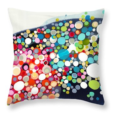 Thrill Of The Ride Throw Pillow