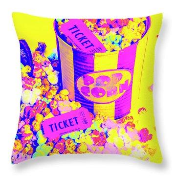 Thrills And Spills Throw Pillow