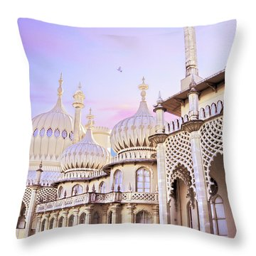 Throne Throw Pillow
