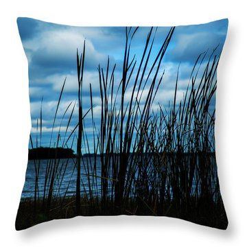 Through The Grass Throw Pillow