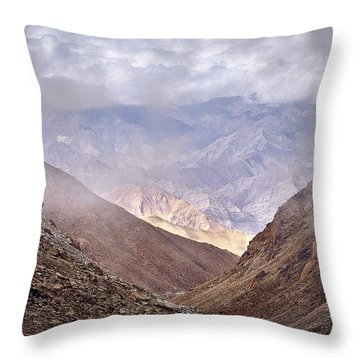 Throw Pillow featuring the photograph Through The Valley by Whitney Goodey