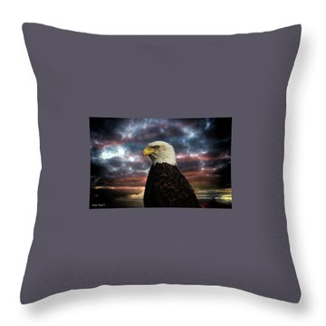 Thunder Eagle Throw Pillow