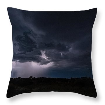 Thunderstorm #1 Throw Pillow