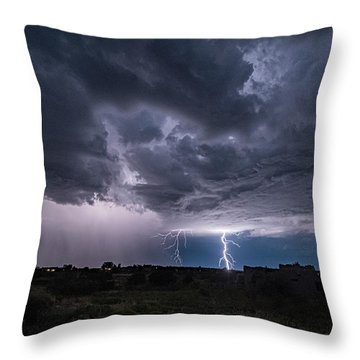 Thunderstorm #2 Throw Pillow