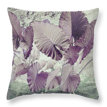 Borneo Giant Abstract Throw Pillow