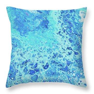 Makena Tide Pool Throw Pillow