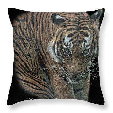 Tiger 6 Throw Pillow