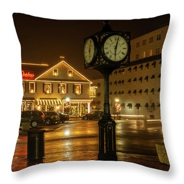 Time For Christmas Throw Pillow