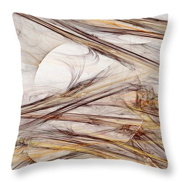 Time Has Come Today Throw Pillow