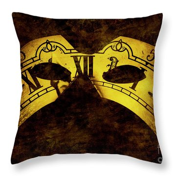 Timely Throw Pillow