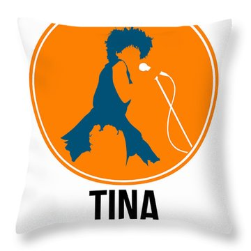 Tina Turner Throw Pillow