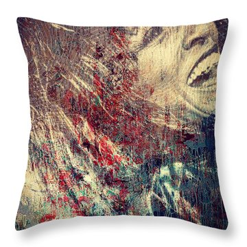 Tina Turner Spirit  Throw Pillow