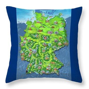 tiptoi_Puzzle Throw Pillow
