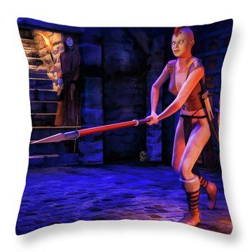 To Rescue A Loved One Throw Pillow