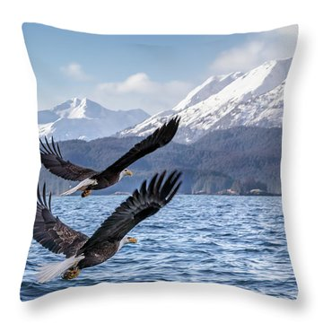 To The Hills... #2 Throw Pillow