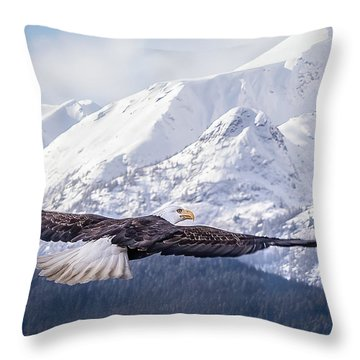 To The Hills... Throw Pillow