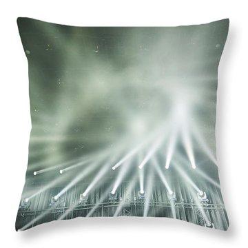 Tokyo Lights IIi Throw Pillow