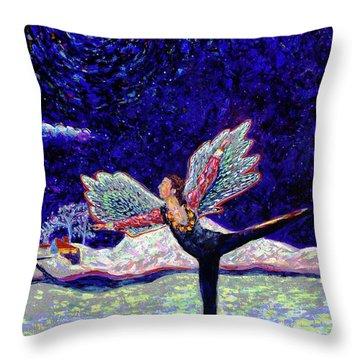 Toller In Heaven Throw Pillow