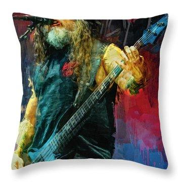 Tom Araya, Slayer Throw Pillow