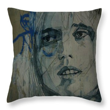 Tom Petty - Resize  Throw Pillow