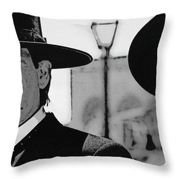 Tombstone Earp Holliday Throw Pillow