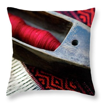 Throw Pillow featuring the photograph Tools Of Trade by Awais Yaqub