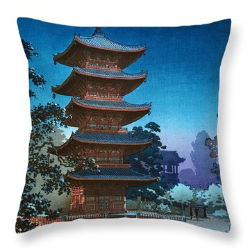 Top Quality Art - Asakusa Kinryusan Throw Pillow