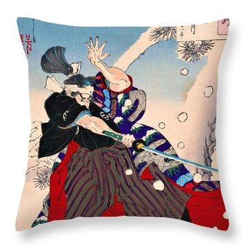 Top Quality Art - Kobayashi Heihachiro Throw Pillow