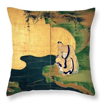 Top Quality Art - Tai Gong Wang Throw Pillow