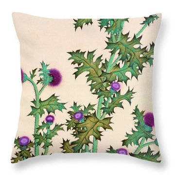 Top Quality Art - Thistle Throw Pillow