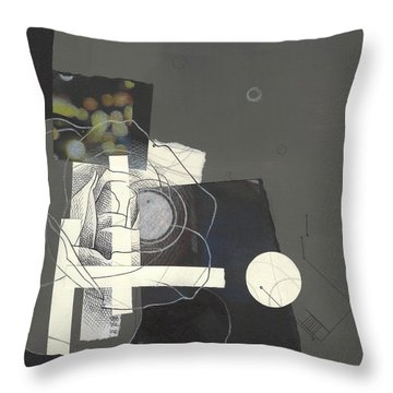 Torn Beauty No. 1 Throw Pillow