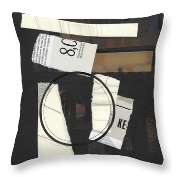 Torn Beauty No. 5 Throw Pillow