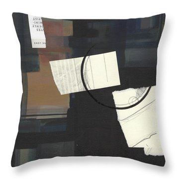 Torn Beauty No. 6 Throw Pillow