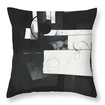 Torn Beauty No. 7 Throw Pillow