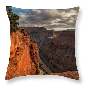 Toroweap Sunrise Throw Pillow