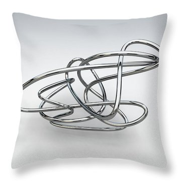Totally Tubular 3 Throw Pillow