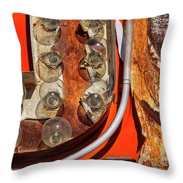 Throw Pillow featuring the photograph Totally Tubular by Skip Hunt