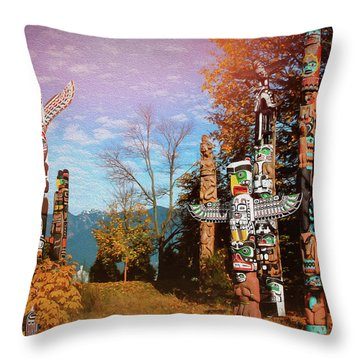 West Vancouver Throw Pillows