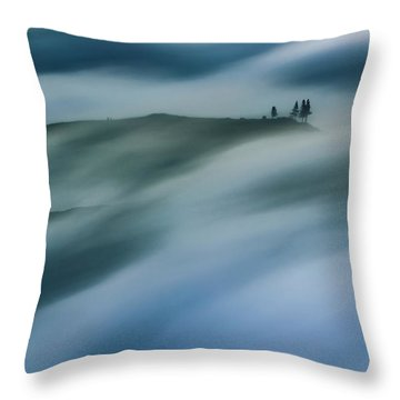 Touch Of Wind Throw Pillow