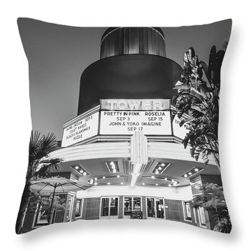 Tower In Silence- Throw Pillow