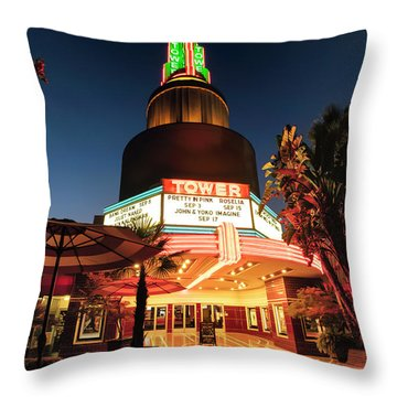 Tower Theater- Throw Pillow