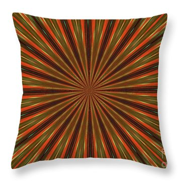 Tracers Throw Pillow
