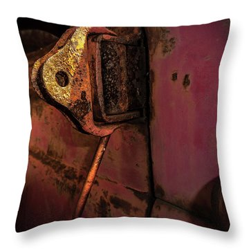 Truck Hinge Throw Pillow