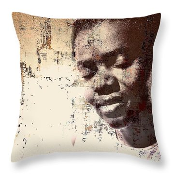 Tracy Chapman Throw Pillow