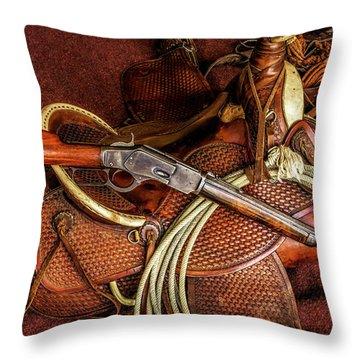 Trail Boss Throw Pillow