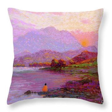 Tranquil Mind Throw Pillow