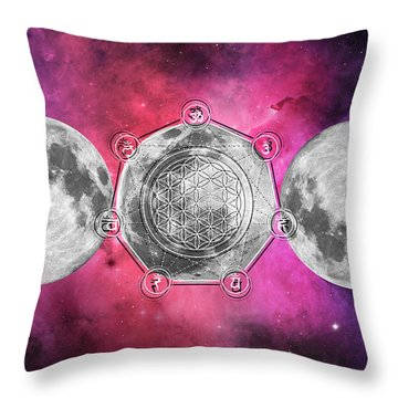 Throw Pillow featuring the digital art Transformation by Bee-Bee Deigner