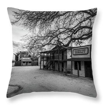 Trapper Street Throw Pillow