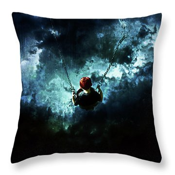 Travel Is Dangerous Throw Pillow