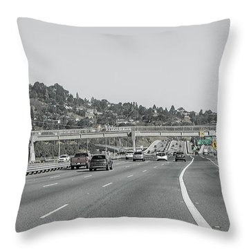 Getting Away With Murder Throw Pillow
